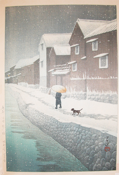 Hasui-snow-at-shinkawabata--handa--bishu-4796