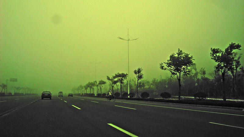 Σ' ένα δρόμο που φοβάσαι