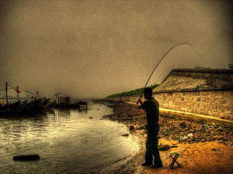 Fishing man 3