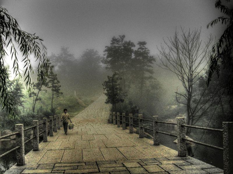Lake fog 4