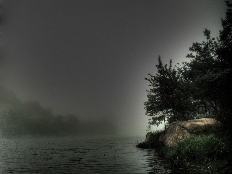 Lake fog 7